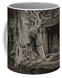 Roots In Ruins 7, Ta Prohm, 2014 Coffee Mug