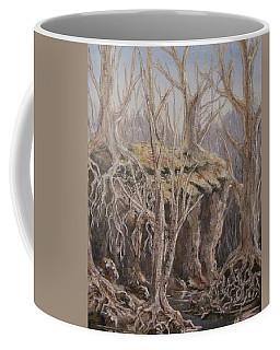 Coffee Mug featuring the painting Roots by Megan Walsh