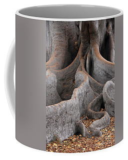 Roots Of The Fig Coffee Mug by Suzanne Oesterling