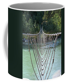 Rope Foot Bridge Coffee Mug