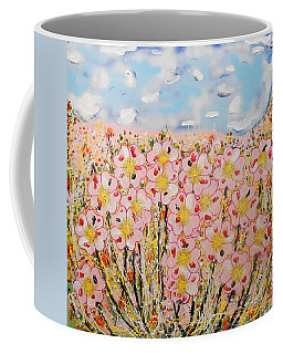 Rosa Ruby Flower Garden Coffee Mug