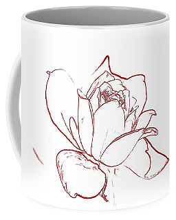 Rose 2 Coffee Mug by Ludwig Keck