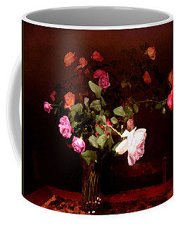 Rose Bouquet Coffee Mug by Steve Karol