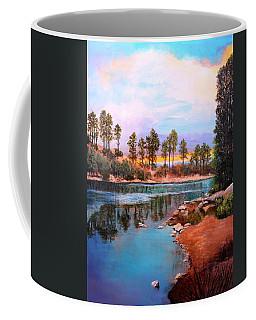 Rose Canyon Lake 2 Coffee Mug by M Diane Bonaparte