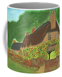 Rose Cottage Coffee Mug