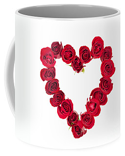 Rose Heart Coffee Mug