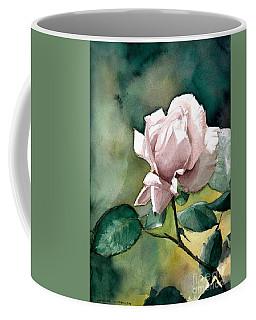 Watercolor Of A Lilac Rose  Coffee Mug