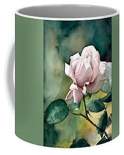 Watercolor Of A Lilac Rose  Coffee Mug