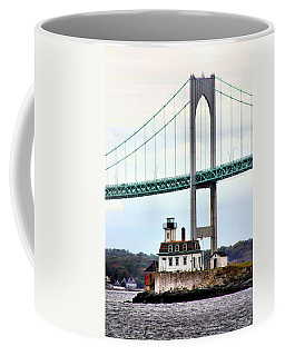 Rose Island Lighthouse Coffee Mug