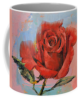Rose Painting Coffee Mug