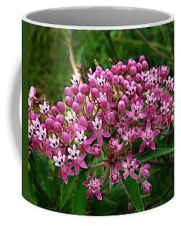 Rose Milkweed Coffee Mug by William Tanneberger