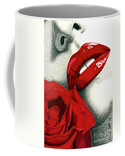 Rose Of Seduction Coffee Mug