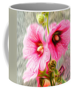 Rose Of The North Abstract. Coffee Mug