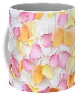 Rose Petals Background Coffee Mug