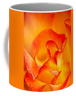 Rose Petals Closeup Coffee Mug