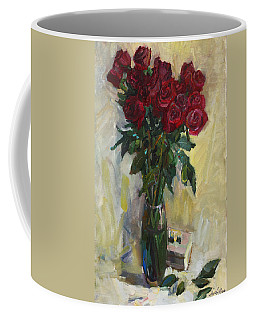 Rose To The Birthday Coffee Mug