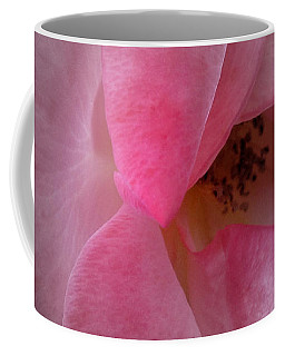 Coffee Mug featuring the photograph Rose Voluptuous by Jean OKeeffe Macro Abundance Art