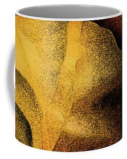 Coffee Mug featuring the photograph Rose Yellow Fresco by Jean OKeeffe Macro Abundance Art