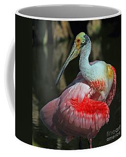Roseate Preening Coffee Mug by Larry Nieland