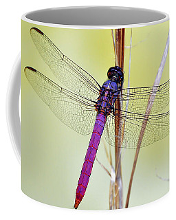 Roseate Skimmer Dragonfly Coffee Mug by Al Powell Photography USA