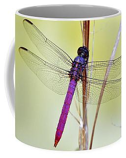 Roseate Skimmer Dragonfly Coffee Mug