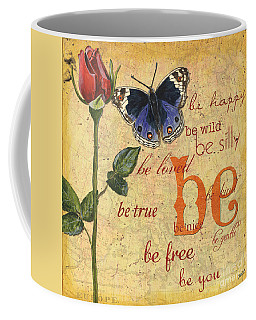 Text Mixed Media Coffee Mugs