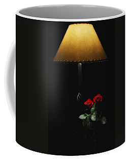 Roses By Lamplight Coffee Mug by Ron White