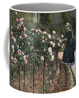Roses In The Garden At Petit Gennevilliers Coffee Mug