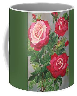 Roses N' Rain Coffee Mug
