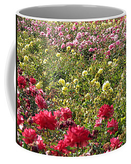 Coffee Mug featuring the photograph Roses Roses Roses by Laurel Powell