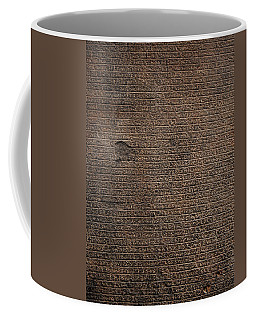 Rosetta Stone Texture Coffee Mug