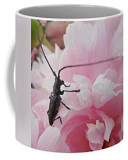 Rosey Antenna Reception Coffee Mug by Kent Lorentzen