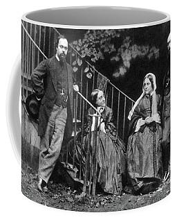 Rossetti Family, 1863 Coffee Mug
