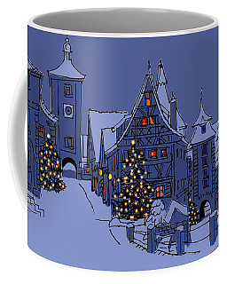 Rothenburg Ob Der Tauber Coffee Mug