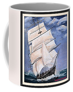 Rough Seas Coffee Mug by Catherine Swerediuk