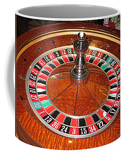 Roulette Wheel And Chips Coffee Mug