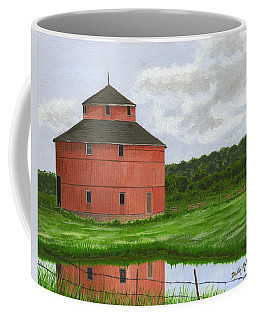 Round Barn Coffee Mug
