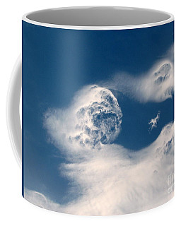 Round Clouds Coffee Mug