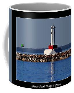 Round Island Passage Lighthouse Coffee Mug