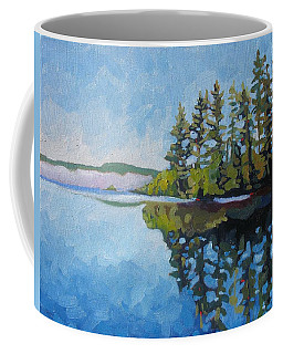 Round Lake Mirror Coffee Mug