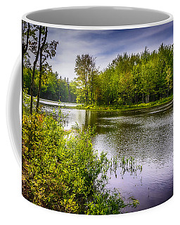 Coffee Mug featuring the photograph Round The Bend 35 by Mark Myhaver
