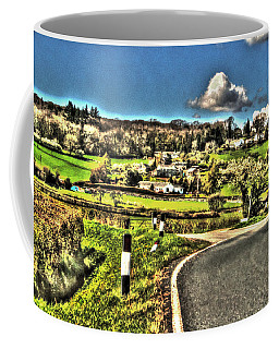 Coffee Mug featuring the photograph Round The Bend by Doc Braham