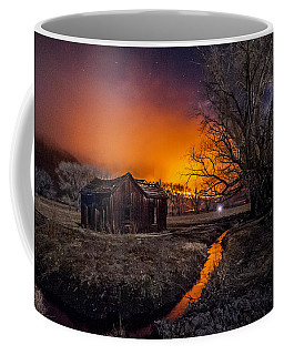 Round Fire Coffee Mug