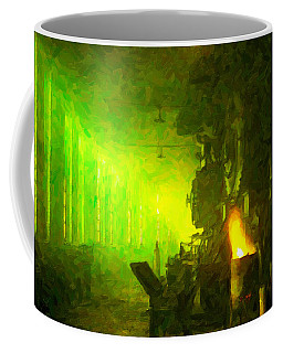 Roundhouse Morning Coffee Mug