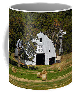 Route 66 Barn Coffee Mug