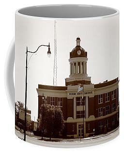 Route 66 - Beckham County Courthouse Coffee Mug