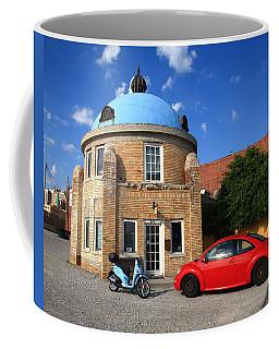 Route 66 - Blue Dome Of Tulsa Coffee Mug