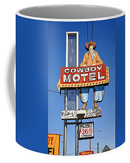 Route 66 - Cowboy Motel Coffee Mug