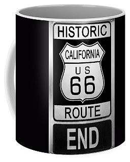 Route 66 End Coffee Mug