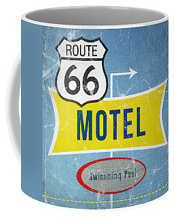 Route 66 Motel Coffee Mug